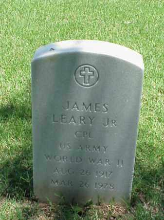 LEARY, JR (VETERAN WWII), JAMES - Pulaski County, Arkansas | JAMES LEARY, JR (VETERAN WWII) - Arkansas Gravestone Photos