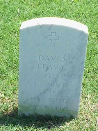 LEAVY (VETERAN KOR), DAVID - Pulaski County, Arkansas | DAVID LEAVY (VETERAN KOR) - Arkansas Gravestone Photos