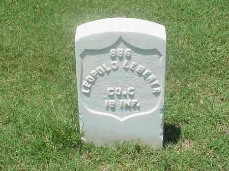 LEBERER (VETERAN UNION), LEOPOLD - Pulaski County, Arkansas | LEOPOLD LEBERER (VETERAN UNION) - Arkansas Gravestone Photos