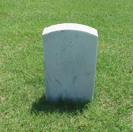 LECROY (VETERAN WWI), SAM B - Pulaski County, Arkansas | SAM B LECROY (VETERAN WWI) - Arkansas Gravestone Photos