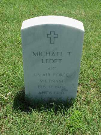 LEDET (VETERAN VIET), MICHAEL T - Pulaski County, Arkansas | MICHAEL T LEDET (VETERAN VIET) - Arkansas Gravestone Photos