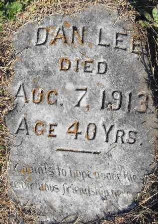 LEE, DAN - Pulaski County, Arkansas | DAN LEE - Arkansas Gravestone Photos
