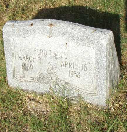 LEE, FRED H - Pulaski County, Arkansas | FRED H LEE - Arkansas Gravestone Photos