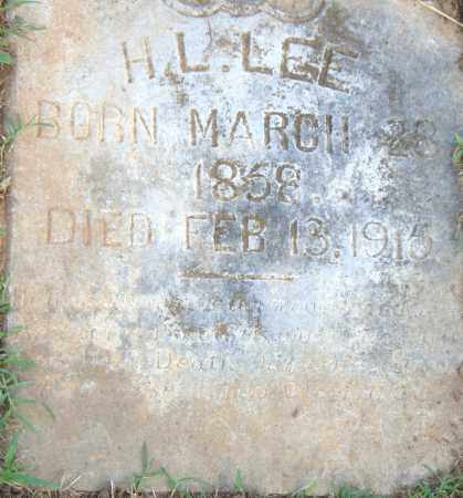 LEE, H. L. - Pulaski County, Arkansas | H. L. LEE - Arkansas Gravestone Photos