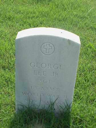 LEE, JR (VETERAN WWII), GEORGE - Pulaski County, Arkansas | GEORGE LEE, JR (VETERAN WWII) - Arkansas Gravestone Photos