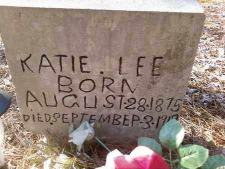LEE, KATIE - Pulaski County, Arkansas | KATIE LEE - Arkansas Gravestone Photos