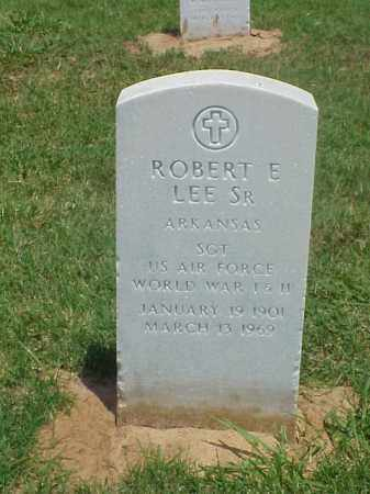 LEE, SR (VETERAN 2 WARS), ROBERT E - Pulaski County, Arkansas | ROBERT E LEE, SR (VETERAN 2 WARS) - Arkansas Gravestone Photos