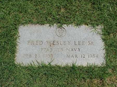 LEE, SR (VETERAN), FRED WESLEY - Pulaski County, Arkansas | FRED WESLEY LEE, SR (VETERAN) - Arkansas Gravestone Photos