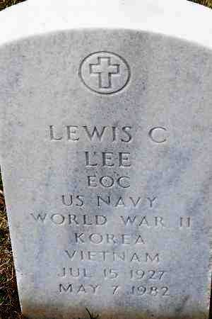 LEE (VETERAN 3 WARS), LEWIS C - Pulaski County, Arkansas | LEWIS C LEE (VETERAN 3 WARS) - Arkansas Gravestone Photos