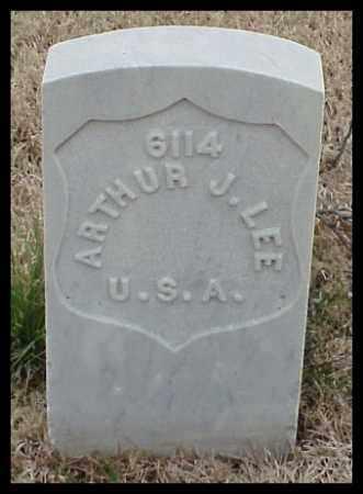 LEE (VETERAN UNION), ARTHUR J - Pulaski County, Arkansas | ARTHUR J LEE (VETERAN UNION) - Arkansas Gravestone Photos