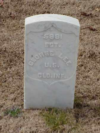LEE (VETERAN UNION), GEORGE - Pulaski County, Arkansas | GEORGE LEE (VETERAN UNION) - Arkansas Gravestone Photos