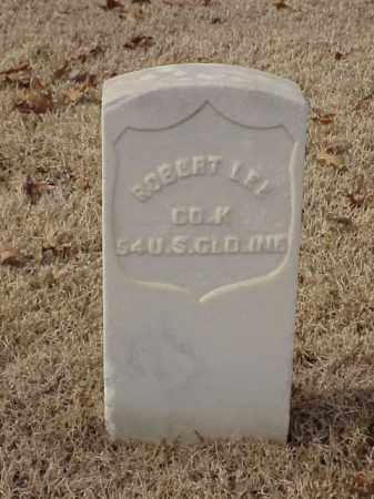 LEE (VETERAN UNION), ROBERT - Pulaski County, Arkansas | ROBERT LEE (VETERAN UNION) - Arkansas Gravestone Photos