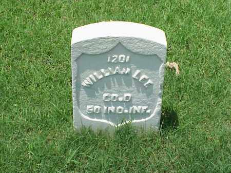 LEE (VETERAN UNION), WILLIAM - Pulaski County, Arkansas | WILLIAM LEE (VETERAN UNION) - Arkansas Gravestone Photos