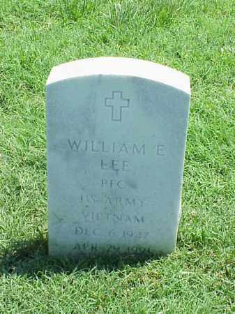 LEE (VETERAN VIET), WILLIAM E - Pulaski County, Arkansas | WILLIAM E LEE (VETERAN VIET) - Arkansas Gravestone Photos