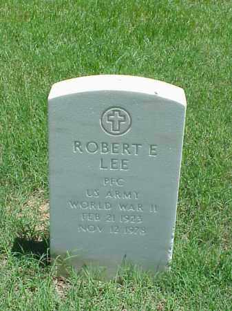 LEE (VETERAN WWII), ROBERT E - Pulaski County, Arkansas | ROBERT E LEE (VETERAN WWII) - Arkansas Gravestone Photos