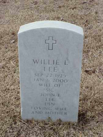 LEE, WILLIE L - Pulaski County, Arkansas | WILLIE L LEE - Arkansas Gravestone Photos