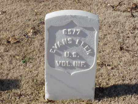 LEEK (VETERAN SAW), EVANS - Pulaski County, Arkansas | EVANS LEEK (VETERAN SAW) - Arkansas Gravestone Photos