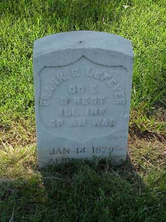 LEFEVER (VETERAN SAW), FRANK E - Pulaski County, Arkansas | FRANK E LEFEVER (VETERAN SAW) - Arkansas Gravestone Photos