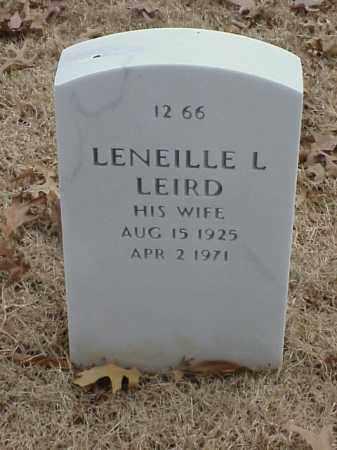 LEIRD, LENEILLE L - Pulaski County, Arkansas | LENEILLE L LEIRD - Arkansas Gravestone Photos