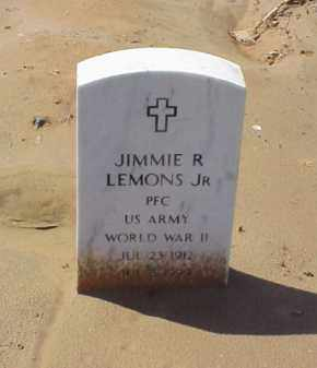 LEMONS, JR (VETERAN WWII), JIMMIE R - Pulaski County, Arkansas | JIMMIE R LEMONS, JR (VETERAN WWII) - Arkansas Gravestone Photos
