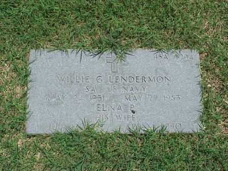 LENDERMON, ELNA P - Pulaski County, Arkansas | ELNA P LENDERMON - Arkansas Gravestone Photos