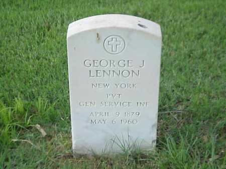 LENNON (VETERAN SAW), GEORGE J - Pulaski County, Arkansas | GEORGE J LENNON (VETERAN SAW) - Arkansas Gravestone Photos