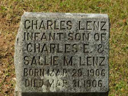 LENZ, CHARLES - Pulaski County, Arkansas | CHARLES LENZ - Arkansas Gravestone Photos