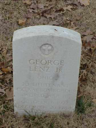 LENZ, JR (VETERAN WWII), GEORGE - Pulaski County, Arkansas | GEORGE LENZ, JR (VETERAN WWII) - Arkansas Gravestone Photos