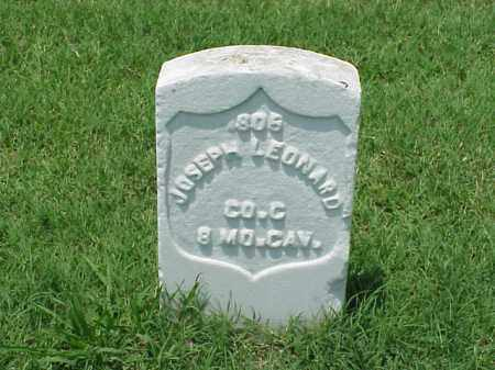 LEONARD (VETERAN UNION), JOSEPH - Pulaski County, Arkansas | JOSEPH LEONARD (VETERAN UNION) - Arkansas Gravestone Photos