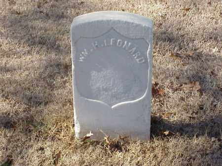 LEONARD (VETERAN UNION), WILLIAM H - Pulaski County, Arkansas | WILLIAM H LEONARD (VETERAN UNION) - Arkansas Gravestone Photos