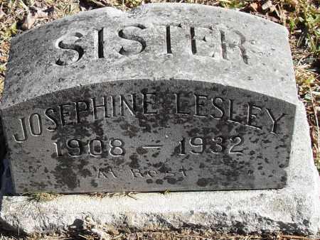 LESLEY, JOSEPHINE - Pulaski County, Arkansas | JOSEPHINE LESLEY - Arkansas Gravestone Photos