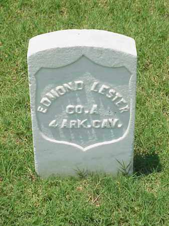 LESTER (VETERAN UNION), EDMOND - Pulaski County, Arkansas | EDMOND LESTER (VETERAN UNION) - Arkansas Gravestone Photos
