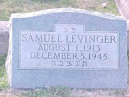 LEVINGER, SAMUEL - Pulaski County, Arkansas | SAMUEL LEVINGER - Arkansas Gravestone Photos