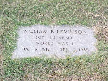 LEVINSON (VETERAN WWII), WILLIAM B - Pulaski County, Arkansas | WILLIAM B LEVINSON (VETERAN WWII) - Arkansas Gravestone Photos