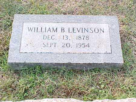 LEVINSON, WILLIAM B - Pulaski County, Arkansas | WILLIAM B LEVINSON - Arkansas Gravestone Photos