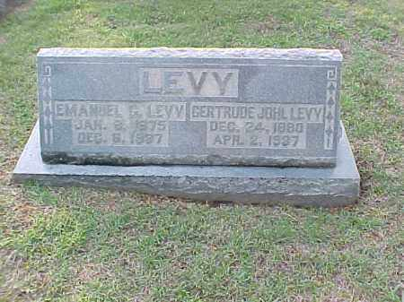 LEVY, EMANUEL G - Pulaski County, Arkansas | EMANUEL G LEVY - Arkansas Gravestone Photos