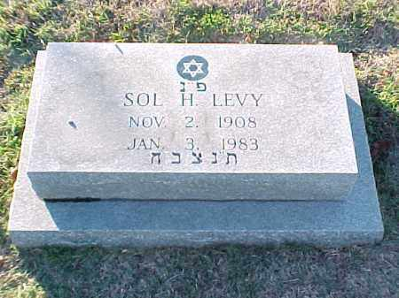 LEVY, SOL H - Pulaski County, Arkansas | SOL H LEVY - Arkansas Gravestone Photos