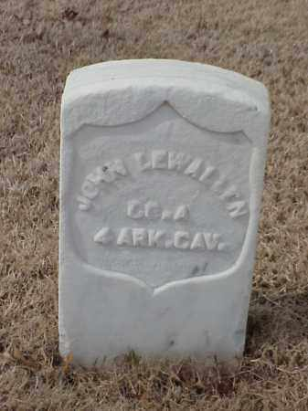 LEWALLEN  (VETERAN UNION), JOHN - Pulaski County, Arkansas | JOHN LEWALLEN  (VETERAN UNION) - Arkansas Gravestone Photos