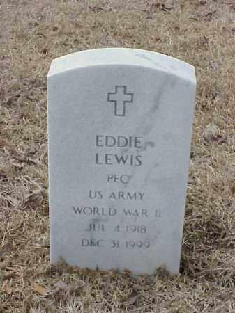 LEWIS  (VETERAN WWII), EDDIE - Pulaski County, Arkansas | EDDIE LEWIS  (VETERAN WWII) - Arkansas Gravestone Photos