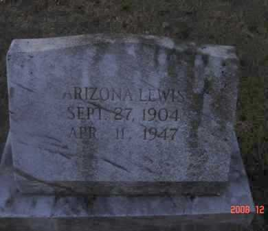 LEWIS, ARIZONA - Pulaski County, Arkansas | ARIZONA LEWIS - Arkansas Gravestone Photos