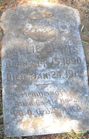 LEWIS, POLLIE - Pulaski County, Arkansas | POLLIE LEWIS - Arkansas Gravestone Photos