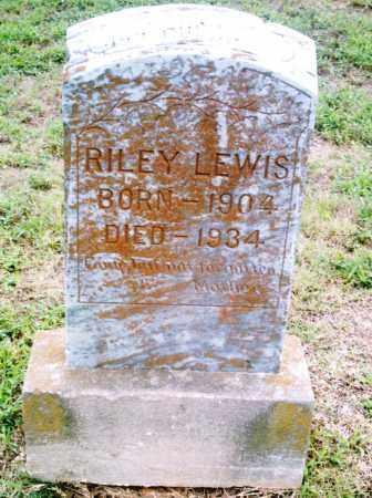 LEWIS, RILEY - Pulaski County, Arkansas | RILEY LEWIS - Arkansas Gravestone Photos