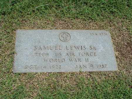 LEWIS, SR (VETERAN WWII), SAMUEL - Pulaski County, Arkansas | SAMUEL LEWIS, SR (VETERAN WWII) - Arkansas Gravestone Photos