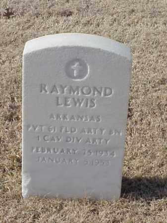 LEWIS (VETERAN KOR), RAYMOND - Pulaski County, Arkansas | RAYMOND LEWIS (VETERAN KOR) - Arkansas Gravestone Photos