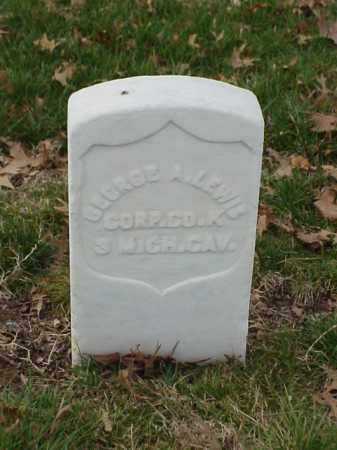 LEWIS (VETERAN UNION), GEORGE A - Pulaski County, Arkansas | GEORGE A LEWIS (VETERAN UNION) - Arkansas Gravestone Photos