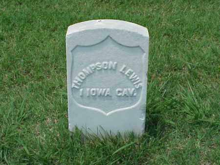 LEWIS (VETERAN UNION), THOMPSON - Pulaski County, Arkansas | THOMPSON LEWIS (VETERAN UNION) - Arkansas Gravestone Photos