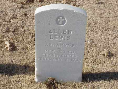 LEWIS (VETERAN WWI), ALLEN - Pulaski County, Arkansas | ALLEN LEWIS (VETERAN WWI) - Arkansas Gravestone Photos