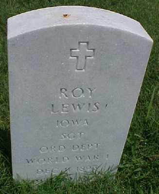 LEWIS (VETERAN WWI), ROY - Pulaski County, Arkansas | ROY LEWIS (VETERAN WWI) - Arkansas Gravestone Photos