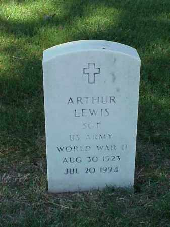 LEWIS (VETERAN WWII), ARTHUR - Pulaski County, Arkansas | ARTHUR LEWIS (VETERAN WWII) - Arkansas Gravestone Photos