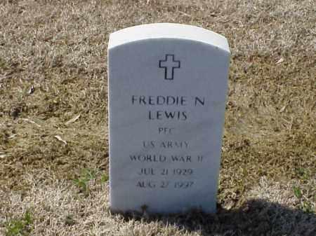 LEWIS (VETERAN WWII), FREDDIE N - Pulaski County, Arkansas | FREDDIE N LEWIS (VETERAN WWII) - Arkansas Gravestone Photos
